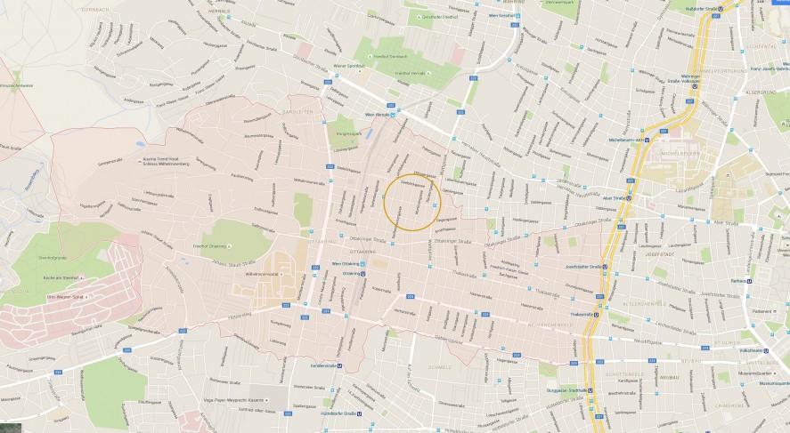 Projekt1160_Wien_Speckbachergasse_Karte